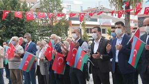 Gölcükteki sivil toplum örgütlerinden Azerbaycana destek