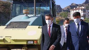 Başkan Eroğlu: Konforlu ve güvenli yollar için çalışıyoruz