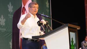 Ahmet Davutoğlu, partisinin Mersin İl Kongresine katıldı