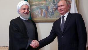 Ruhani, Putin ile Dağlık Karabağdaki geçici ateşkesi görüştü