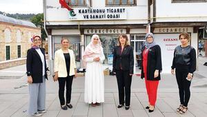 TOBB Kastamonu Kadın Girişimciler Kurulu Başkanı Şener, 'tırnak bağı' denilen özel dantel ile ilgili hedeflerini anlattı: 'Tırnak bağını markalaştırıp ihraç edeceğiz'