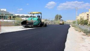 Seyhanda asfalt çalışmaları devam ediyor