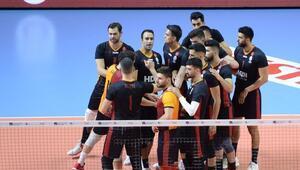 AXA Sigorta Efeler Ligi - Arhavi Voleybol: 1 - Galatasaray HDI Sigorta: 3