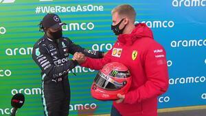 Formula 1de Lewis Hamilton, Michael Schumacherin rekoruna ortak oldu