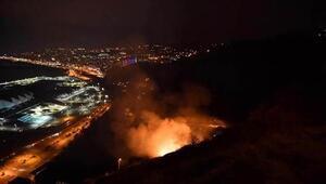 Trabzonda son 48 saatte 35 farklı noktada yangın çıktı