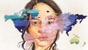 Kadın sanatçılar ve kız çocukları iklim için çizdi