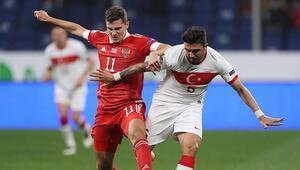 Rusya 1-1 Türkiye / Maçın özeti ve golleri