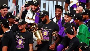 Son Dakika | NBAde şampiyon Los Angeles Lakers