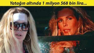 Son dakika haberi: Harika Avcıya hırsız şoku Yatağın altında 1 milyon 568 bin lira...