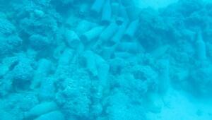 Dünyaca ünlü Konyaaltı sahilin dibinde üzücü görüntüler