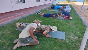 MSB görüntüleri paylaştı: 120 Libyalı asker...