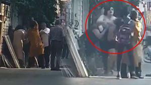 Son dakika haberler... Antalyada sokak ortasında saç saça baş başa kavga