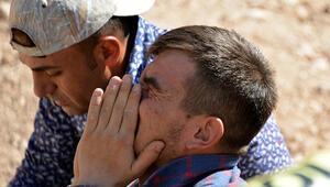 Kahramanmaraşta inşaatta göçük: 2 ölü Kahreden haber... Gözyaşlarına boğuldu