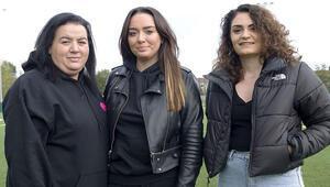 Londra futboluna Türk kadını eli