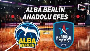 Alba Berlin Anadolu Efes Euroleague maçı saat kaçta hangi kanalda