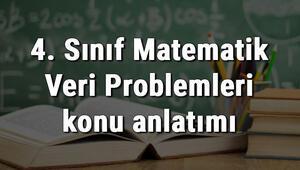 4. Sınıf Matematik Veri Problemleri konu anlatımı