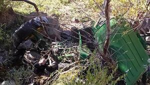Devrilen traktörünün altında kalan yaşlı adam öldü