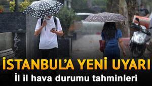 MGM 13 Ekim 2020 hava durumu tahminleri - Hava bugün nasıl olacak İstanbula yağmur uyarısı