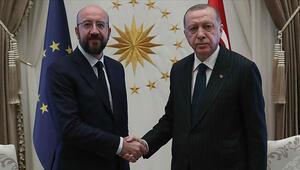 Erdoğan, Michel'le AB ilişkilerini görüştü