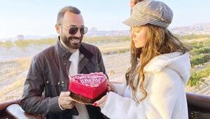Kapadokya'da romantik kutlama