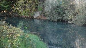 Bartın Irmağı siyaha büründü, kötü koku oluştu
