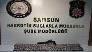 Samsun'da 425 bin TL'lik uyuşturucu operasyonu: 5 gözaltı