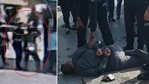 Polise kafa atan taciz ve gasp şüphelisinden şok sözler