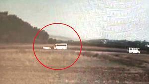 Osmaniyede işçi servis midibüsü ile otomobil çarpıştı
