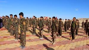 AA, terör örgütü PKKnın Sincardaki kamplarını görüntüledi