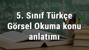 5. Sınıf Türkçe Görsel Okuma konu anlatımı