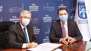 Ankara'nın metrosu İBB'den