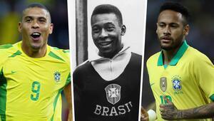 Neymar, Ronaldoyu geçti Peleye bir adım daha yaklaştı...