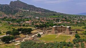 Sardes Antik Kenti'ne ziyaretçi merkezi kuruluyor