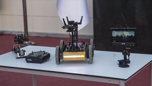 Lise öğrencilerinin bomba imha robotu Naim tanıtıldı