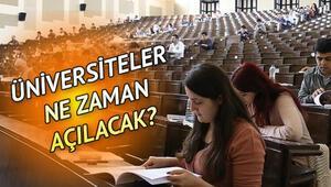Son dakika haberi: Üniversiteler açılacak mı, ne zaman açılacak 2020 Cumhurbaşkanı Erdoğan ve Bakan Kocadan açıklama