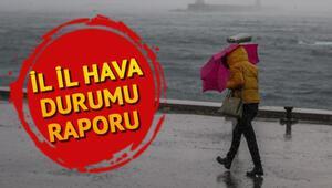 Hava durumu 15 Ekim: Bugün hava nasıl olacak Doğu Karadeniz bölgesi için sağanak uyarısı
