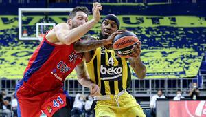 Fenerbahçe 77-78 CSKA Moskova (Maç sonucu ve özeti)