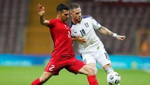 Türkiye 2-2 Sırbistan - Maçın özeti ve golleri