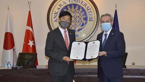 Büyükelçi Akio Miyajima'ya Dostluk Payesi Beratı