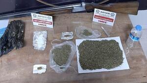 Kayseride uyuşturucu satıcılarına operasyon: 3 gözaltı