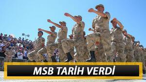 Askerlik yerleri ne zaman açıklanacak 2020 Kasım celbi askerlik yerleri için MSB tarih verdi