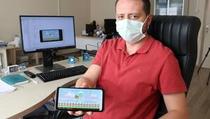 Niğdeli mühendisten koronavirüse karşı mobil oyun