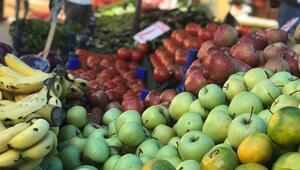 Pazar tezgahları kışlık sebze ve meyvelerle şenlendi