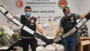 İstanbul Havalimanında operasyon, 420 kilogram uyuşturucu yakalandı