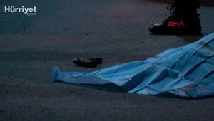 Kağıthanede sokak ortasında kendini vurdu
