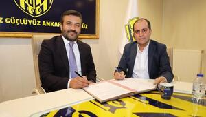 MKE Ankaragücünün forma sırt sponsoru belli oldu