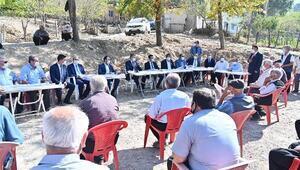 Yeşildere Köyü sakinleri, Vali Erdinçe talep ve sorunlarını iletti