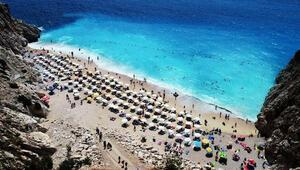 Antalyaya Rusya ve Ukraynadan turist akını