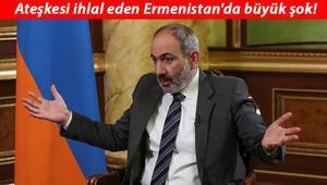 Son dakika haberler... Ateşkesi ihlal eden Ermenistanda büyük şok Paşinyan hezimeti itiraf etti
