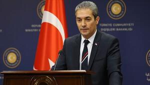 Son dakika haberler... Türkiyeden Yunan Bakan bekletildi iddiasına yanıt